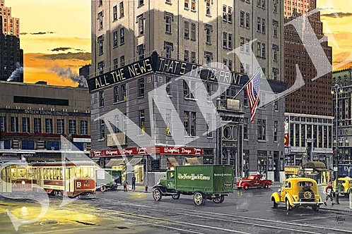 Good Morning New York Original Painting