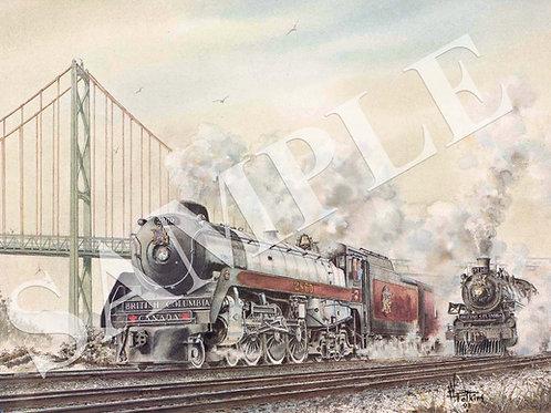 West Coast Rail Original Paintings