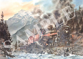 conquering the pass 1952.jpg
