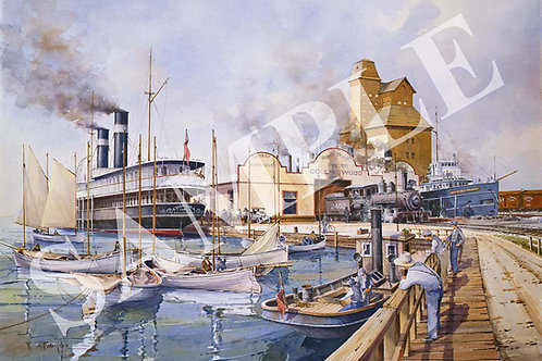 Memories of Collingwood Harbor