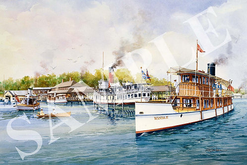 Wanda III atMuskoka Wharf
