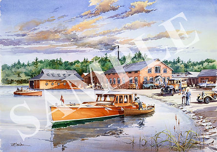 RAY DAVIDSON - Ditchburn Boat Works-A Ti