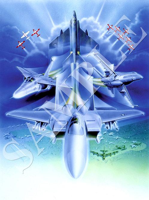 F15 Phantom Front and Centre