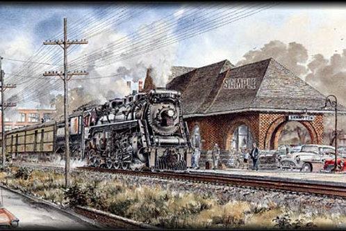 Railroad Street Brampton
