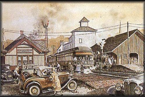Newmarket C.N.R. Station