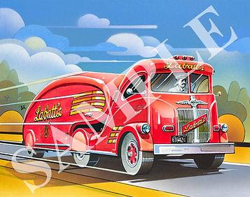 CLIFF KEARNS - Labatts' Beer Truck - sam