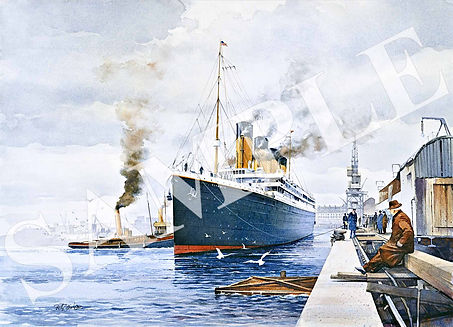 RAY DAVIDSON - Titanic, the Maiden Voyag