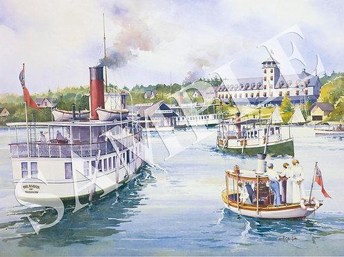 Boat Regatta at Beaumaris