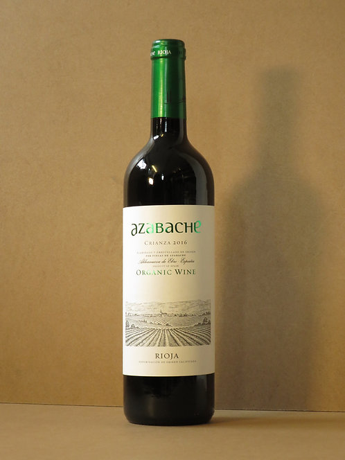 Azabache, Rioja Crianza Organic, 2015