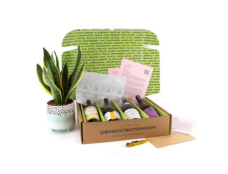 Benedict Butterworth Wine Subscription Monthly Box