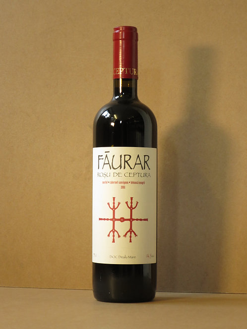 Faurar, Romanian Bordeaux blend, 2016