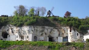 Troglodytes in Saumur