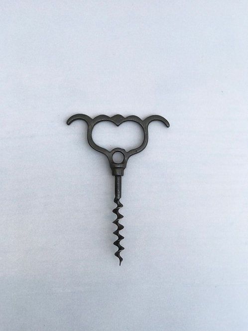 Antique pull corkscrew