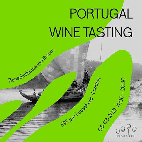 Portugal Wine Tasting - 05.03.2021