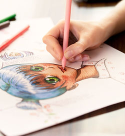 Pessoa Coloring no Anime