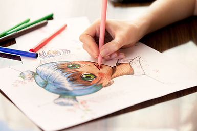 Person Coloring in Anime
