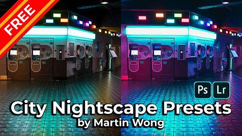 Martin Wong Photo Presets - City Nightscape (Free)