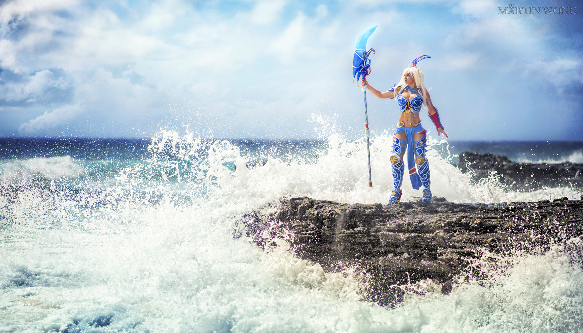 Armored Kida Cosplay
