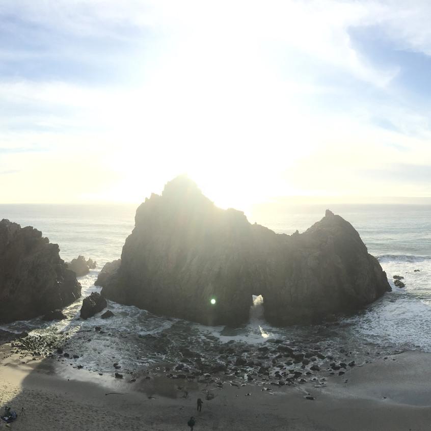 [BTS] Pfeiffer Beach (1)