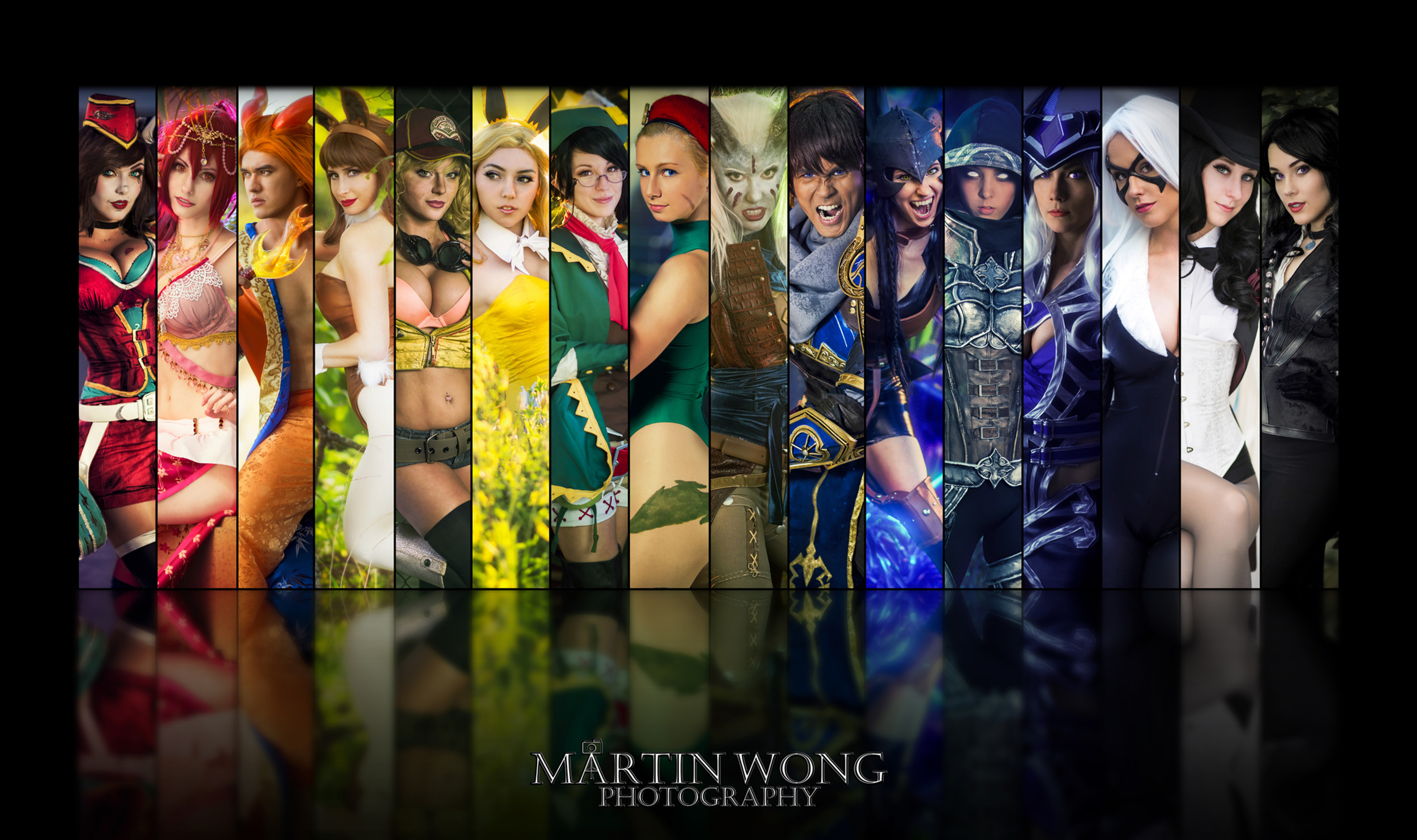 Martin Wong Cosplay Photography Workshop