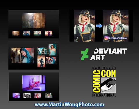 Martin Wong Actions - Complete Package (Deviant Art SDCC Ver.)