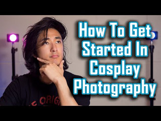 How To Get Started In Cosplay Photography