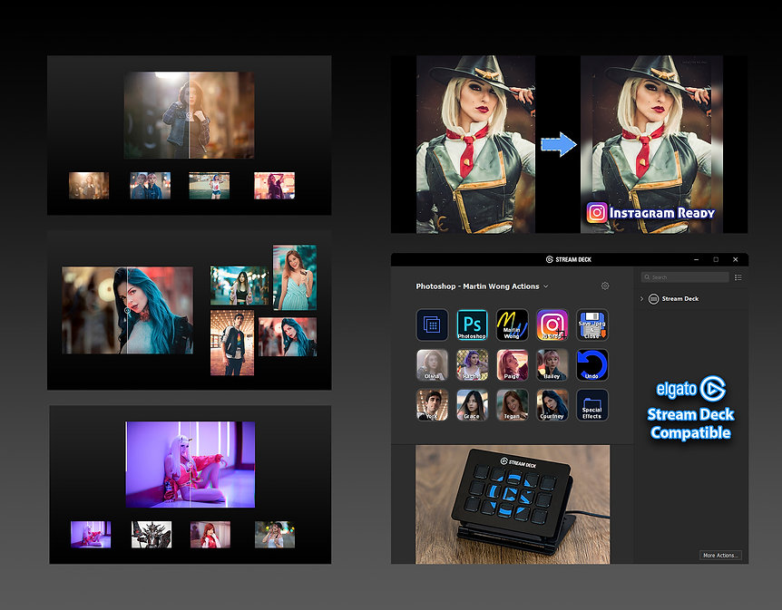 Martin Wong Photoshop Actions - Complete