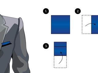 How to: Presidential Fold Pocket Square