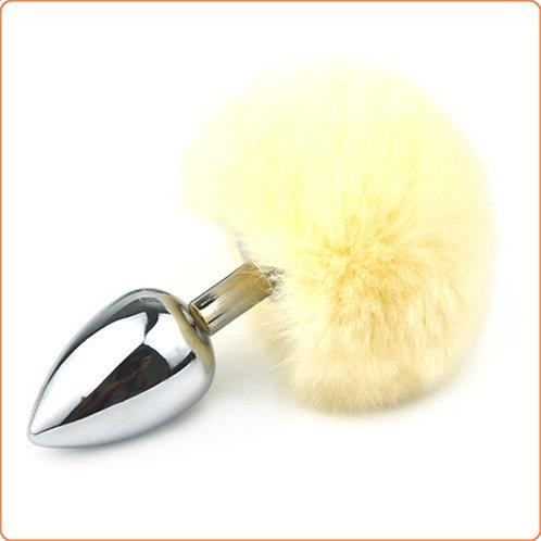 Ball Tail Metal Medium Anal Plug