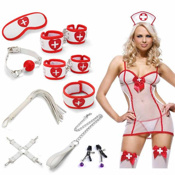 Sexy Nurse Bondage Set