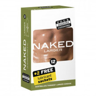 Four Seasons Naked Larger Condom 12 Pc