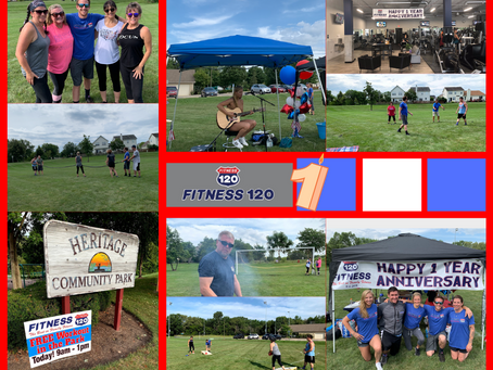 Fitness 120 Celebrates One Year Anniversary!