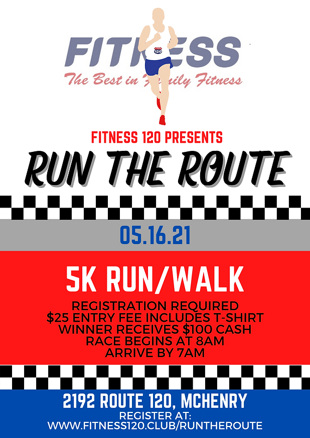 Run the Route Flyer