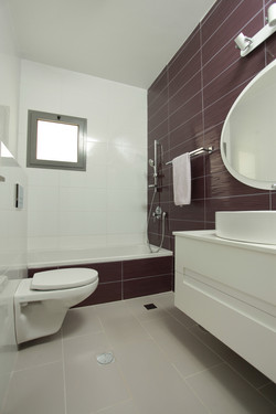 אילנה ויזברג  עיצוב אמבטיה