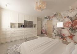 אילנה עיצוב חדר שינה