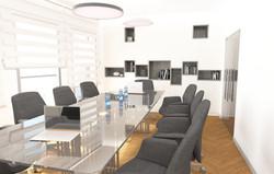אילנה וייזברג עיצוב חדר ישיבות