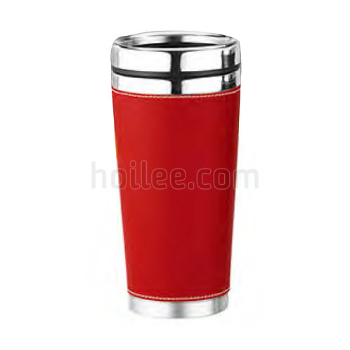 Outer Plastic Stainless Steel Mug 450ml