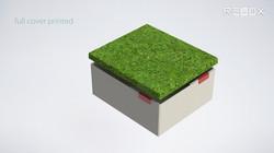 storage box full color printed