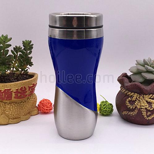 Outer Plastic Stainless Steel Bottle 450ml