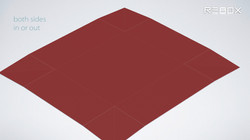 table mat with box