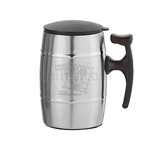 Stainless Steel Plastic Mug 350ml