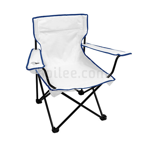 Folding Chair with Mesh Pockets