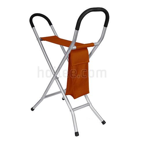 Folding Chair w/ Walking Stick