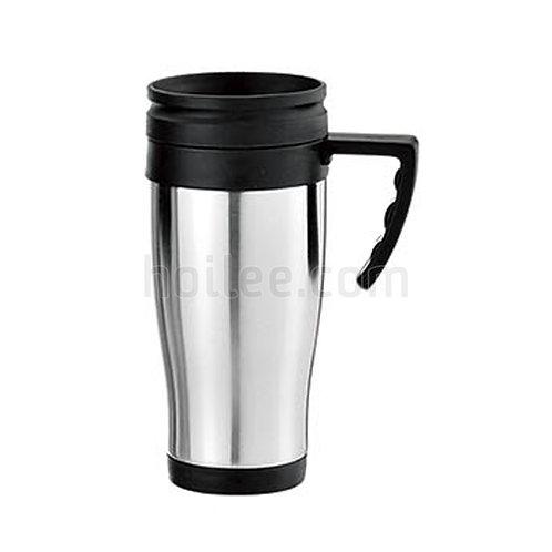 Outer Stainless Steel Inner Plastic Mug 450ml