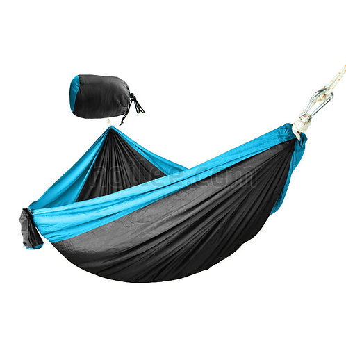 Deluxe Travel Hammock w/ Carry Pouch
