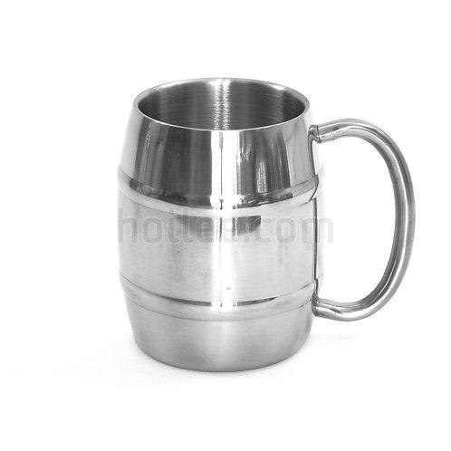 Barrel Shaped Insulated Mug