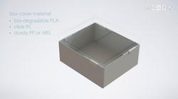 see through storage box