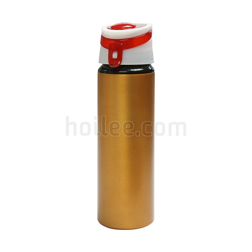 Aluminum Sports Bottle with cap lock 750ml
