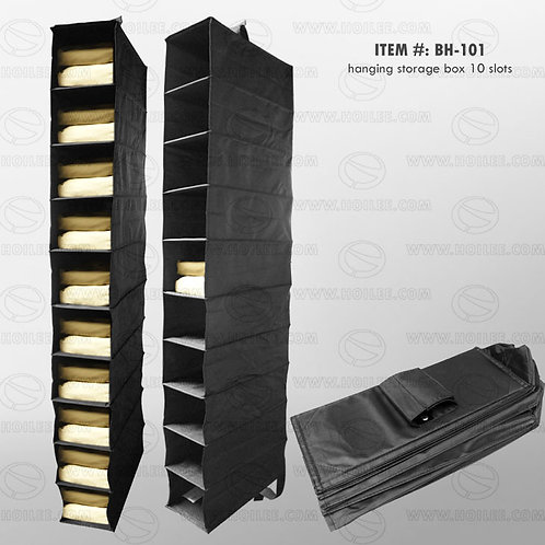 BH-101: Hanging Storage Box 10 Slots