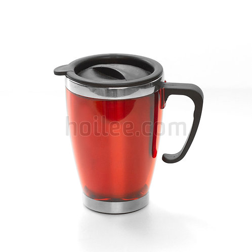 Outer Plastic Stainless Steel Mug